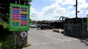 Dorset household recycling centre
