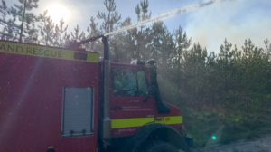 Wareham Forest fire Unimog