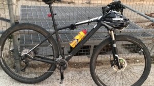 Bike stolen on Danecourt Road