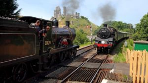 Trains at the Swanage Railway