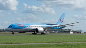 TUI airplane