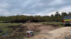 Wareham Forest Fire