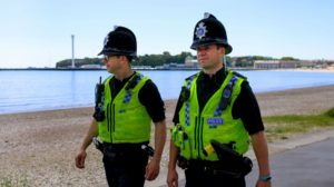 Weymouth & Portland Police officers