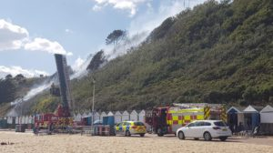 Fire services at the beach