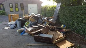 Fly tipping in Shaftesbury