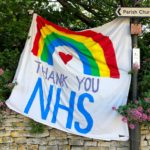 Thank you NHS flag
