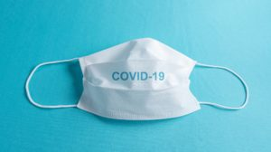 Coronavirus surgical face mask